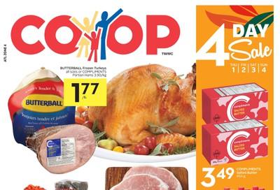 Foodland Co-op Flyer October 1 to 7