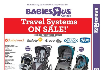 Babies R Us Flyer October 1 to 7