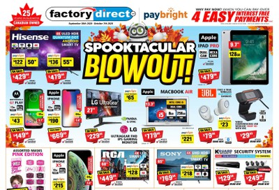Factory Direct Flyer September 30 to October 7