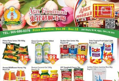 Ajax Foodmart Flyer December 6 to 12