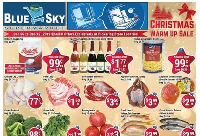 Blue Sky Supermarket (Pickering) Flyer December 6 to 12