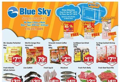 Blue Sky Supermarket (North York) Flyer December 6 to 12