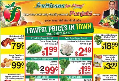 Fruiticana (Calgary) Flyer December 6 to 11