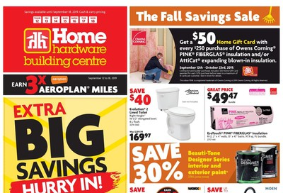Home Hardware Building Centre (ON) Flyer September 12 to 18