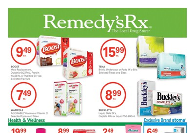 Remedy's RX Flyer October 2 to 29