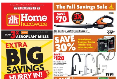 Home Hardware (Atlantic) Flyer September 12 to 18