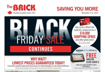 The Brick Flyer December 6 to 12