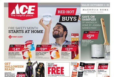 ACE Hardware Weekly Ad Flyer October 1 to October 31