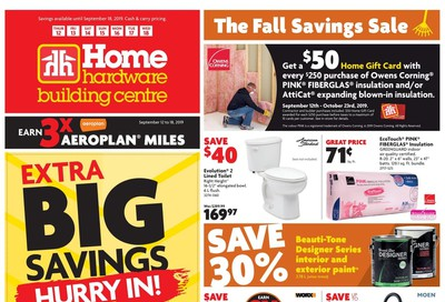 Home Hardware Building Centre (BC) Flyer September 12 to 18
