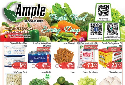 Ample Food Market Flyer October 2 to 8