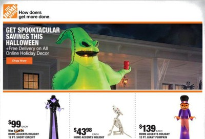 The Home Depot Weekly Ad Flyer October 1 to October 8