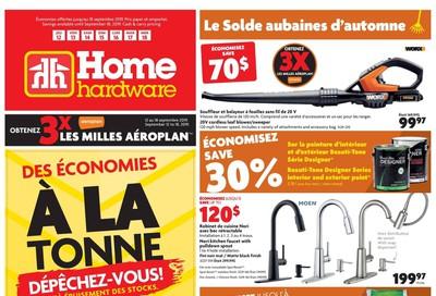 Home Hardware (QC) Flyer September 12 to 18
