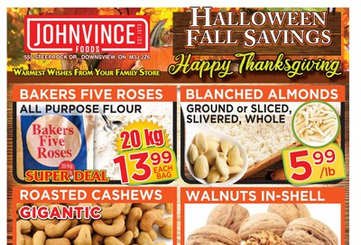 Johnvince Foods Flyer October 3 to 16