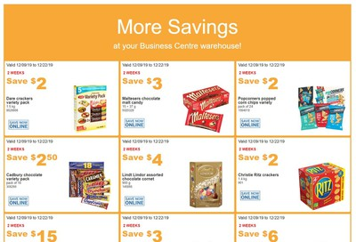 Costco Business Centre (Scarborough, ON) Instant Savings Flyer December 9 to 22