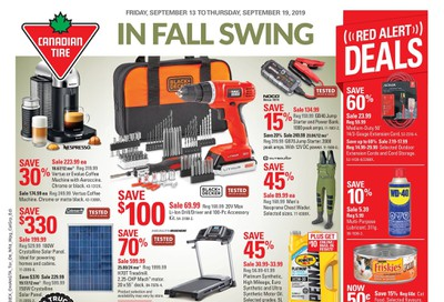 Canadian Tire (West) Flyer September 13 to 19