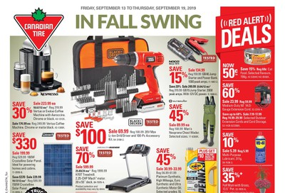 Canadian Tire (ON) Flyer September 13 to 19