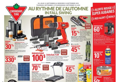 Canadian Tire (QC) Flyer September 12 to 18