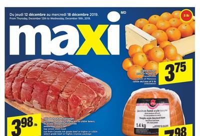 Maxi & Cie Flyer December 12 to 18