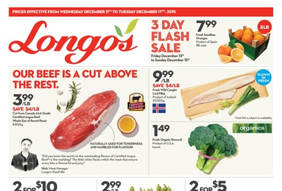 Longo's Flyer December 11 to 17