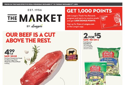 The Market by Longo's Flyer December 11 to 17