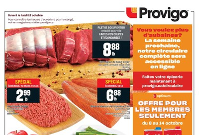 Provigo Flyer October 8 to 14