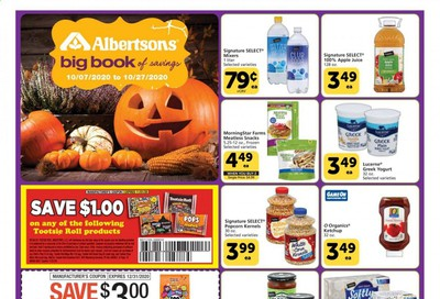 Albertsons Weekly Ad Flyer October 7 to October 27
