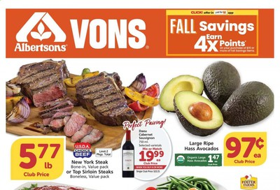 Albertsons Weekly Ad Flyer October 7 to October 13