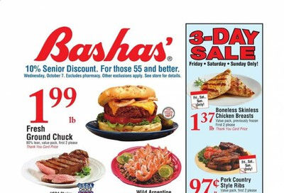 Bashas' (AZ) Weekly Ad Flyer October 7 to October 13
