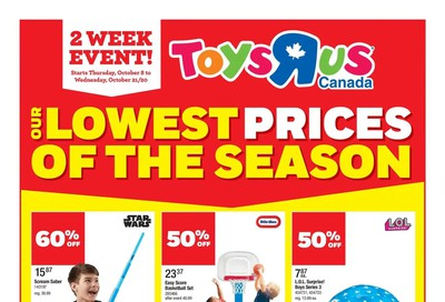 Toys R Us Flyer October 8 to 21