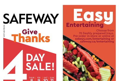 Sobeys (West) Flyer October 8 to 14