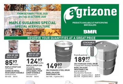 BMR Agrizone Flyer October 7 to 20