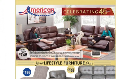 American Furniture Warehouse (AZ) Weekly Ad Flyer October 4 to October 10