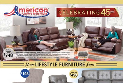 American Furniture Warehouse (TX) Weekly Ad Flyer October 4 to October 10