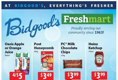 Bidgood's Flyer October 8 to 14