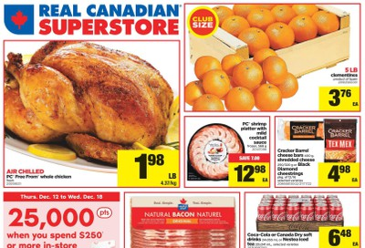 Real Canadian Superstore (ON) Flyer December 12 to 18