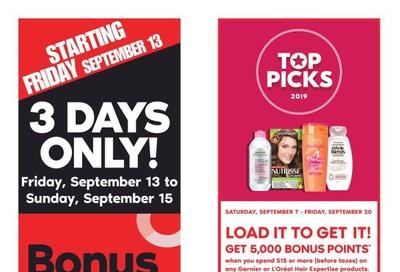 Shoppers Drug Mart (West) Flyer September 14 to 20