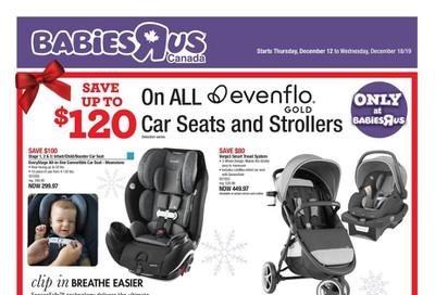 Babies R Us Flyer December 12 to 18
