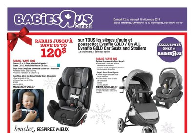 Babies R Us (QC) Flyer December 12 to 18