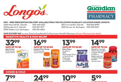Longo's Pharmacy Flyer August 28 to September 24
