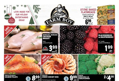 Farm Boy (Brantford, Cambridge, Hamilton and Kitchener) Flyer December 12 to 18