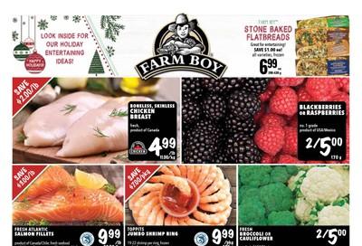 Farm Boy (Cornwall, Kingston, London, Ottawa, Pickering, Toronto and Whitby) Flyer December 12 to 18