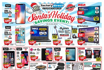 Factory Direct Flyer December 11 to 18