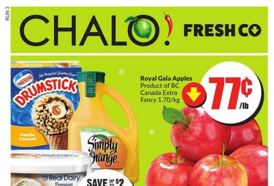 Chalo! FreshCo (West) Flyer December 12 to 18