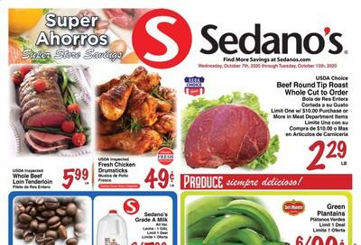 Sedano's Weekly Ad Flyer October 7 to October 13