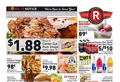 Redner's Markets Weekly Ad Flyer October 8 to October 14