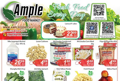 Ample Food Market Flyer October 9 to 15