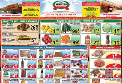 Akhavan Supermarche Flyer December 11 to 17
