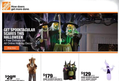 The Home Depot Weekly Ad Flyer October 8 to October 15