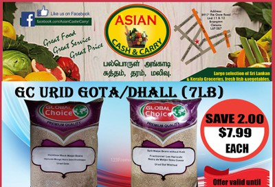 Asian Cash & Carry Flyer October 9 to 15