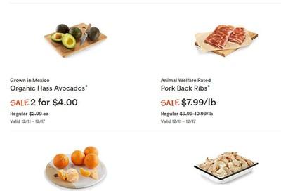Whole Foods Market (West) Flyer December 11 to 17